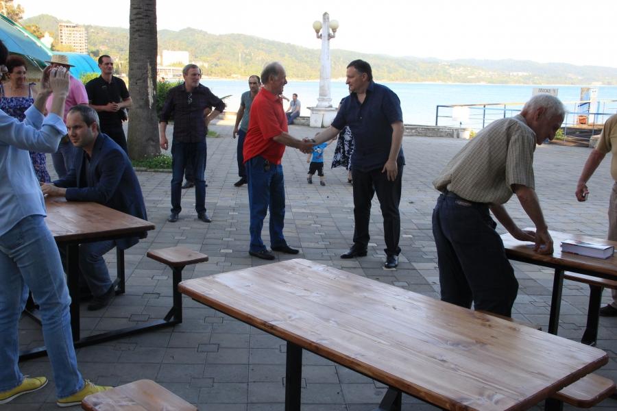 На «Брехаловке» обновили «мебель» (видео)